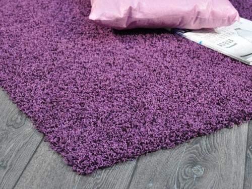 Outlet acqualine viola multimisura tappeto su misura - Tappeto bagno viola ...