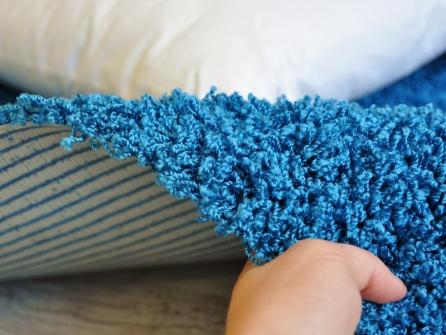 Outlet acqualine turchese lavabile in lavatrice tappeto su misura - Lavare tappeti in lavatrice ...