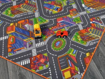 Outlet tappeto gioco metropolis 200x200 tappetosumisura - Ikea tappeto gioco ...