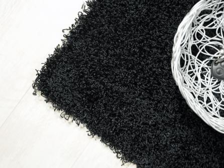 Outlet acqualine nero lavabile in lavatrice tappeto su misura - Lavare tappeti in lavatrice ...