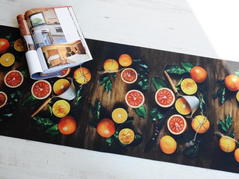 Provenza arance tappeto su misura - Tappeto su misura ...