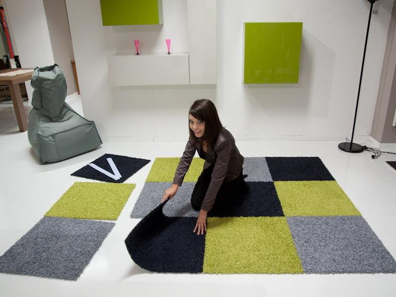 Tappeti Da Salotto Quadrati : Tappeti quadrati moderni. latest tappeto passatoia moderno