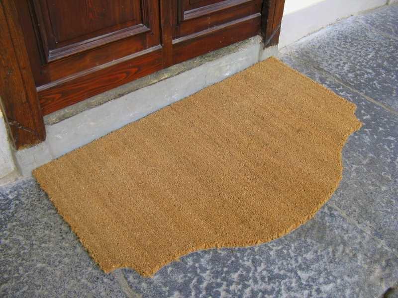 Cocco naturale 17mm tappeto su misura - Tappeto ingresso ...